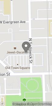 Mapa de 1234 N Sedgwick St en Chicago
