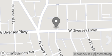 Map of 554 W Diversey Pkwy in Chicago