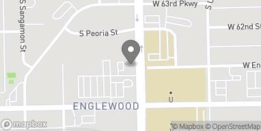 Mapa de 6232 South Halsted Street en Chicago