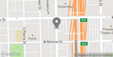 Map of 15 S Halsted St in Chicago