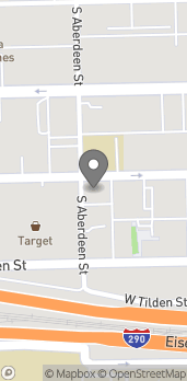 Map of 1061 W Jackson in Chicago