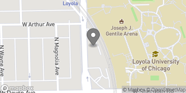 Mapa de 6445 N Sheridan en Chicago