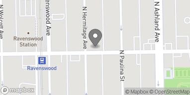 Mapa de 1724 W Lawrence Avenue en Chicago