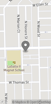 Map of 1819 W Division St in Chicago