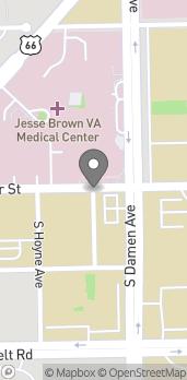 Mapa de 717 S Seeley Ave en Chicago