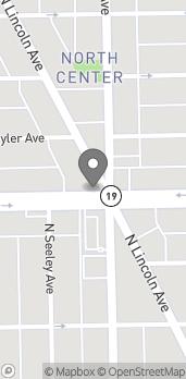 Mapa de 4000 N Lincoln Ave en Chicago