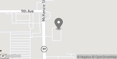 Mapa de 2131 S McKenzie St en Foley