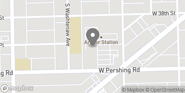 Map of 2628 W Pershing Rd in Chicago