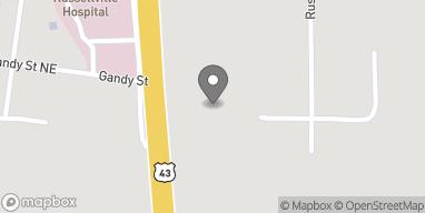 Mapa de 15046 Hwy 43 en Russellville