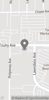 Map of 3701 W. Touhy Ave in Lincolnwood