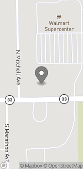 Map of 1302 E Main Street in Robinson