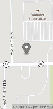 Mapa de 1302 E Main Street en Robinson