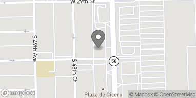 Map of 2942 S Cicero Ave in Cicero