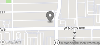 Map of 4812 W. North Avenue in Chicago