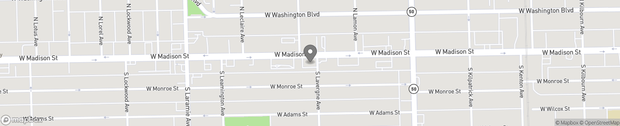 Map of 5001 W Madison Street in Chicago