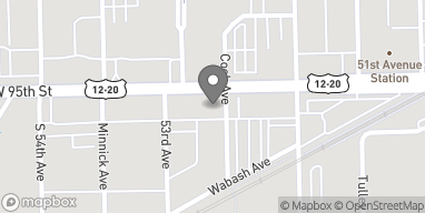 Map of 5251 W. 95th Street in Oak Lawn