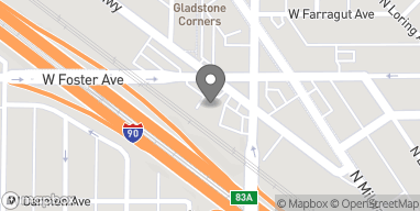 Map of 5224 Northwest Highway in Chicago