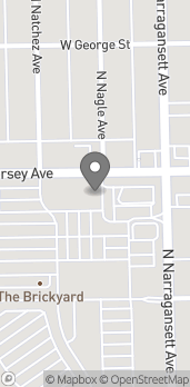 Map of 6451 W Diversey Ave in Chicago