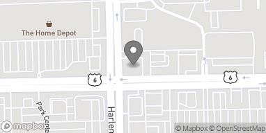 Mapa de 7170 W 159th St en Orland Park