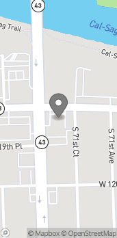 Map of 11901 Harlem Avenue in Palos Heights
