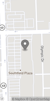 Map of 8731 S Harlem Ave in Bridgeview