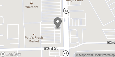 Map of 10276 S Harlem Ave in Bridgeview