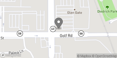 Map of 5 Waukegan Road in Glenview