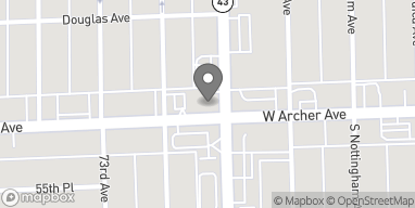 Map of 7200 W Archer Ave in Summit