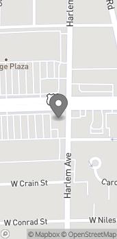 Mapa de 7201 W Dempster St en Niles