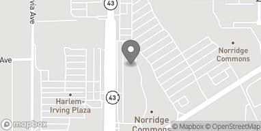 Map of 4155 1/2 N Harlem Ave in Norridge