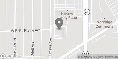 Map of 4136B Harlem Ave in Norridge
