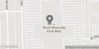 Map of 7501 W Cermak Rd in North Riverside