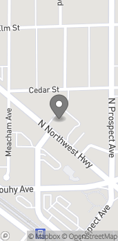Map of 123 N Northwest Hwy in Park Ridge