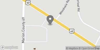 Mapa de 2471 US Hwy 43 en Winfield