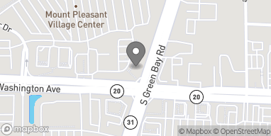 Map of 5502 Washington Ave in Mt. Pleasant
