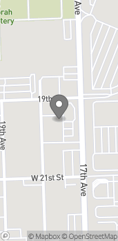 Map of 2812 S 17th Ave in Broadview