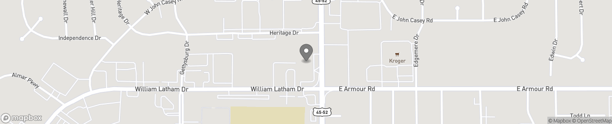 Map of 507 North Convent Street in Bourbonnais