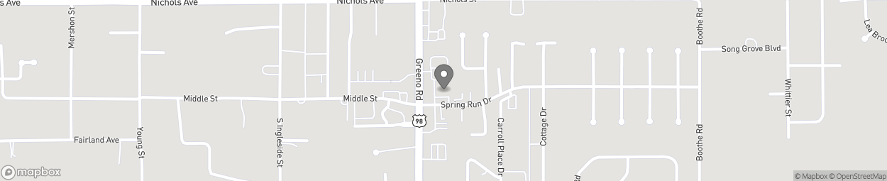 Map of 375 S Greeno Road in Fairhope