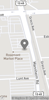 Mapa de 7024 Mannheim Rd en Rosemont