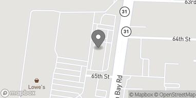 Map of 6430 Green Bay Rd in Kenosha