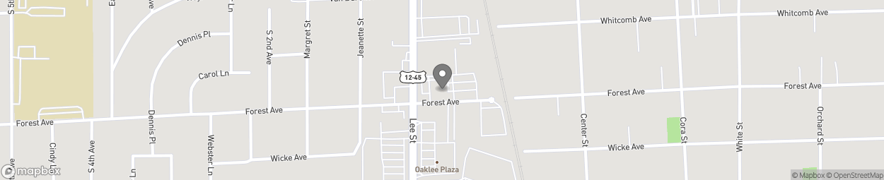 Map of 1387 Lee St in Des Plaines