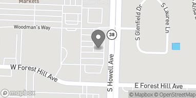 Map of 8241 S Howell Ave in Oak Creek