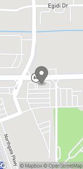 Mapa de 335 W Dundee Road en Wheeling