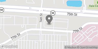 Map of 9800 76th Street in Pleasant Prairie