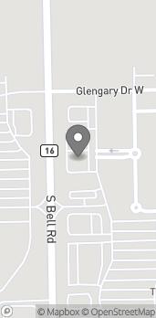 Mapa de 14003 S Bell Rd en Homer Glen