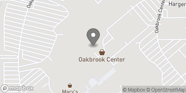 Map of 100 Oakbrook Center in Oak Brook