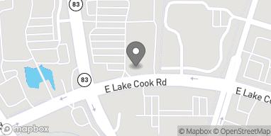 Mapa de 55 McHenry Rd en Buffalo Grove