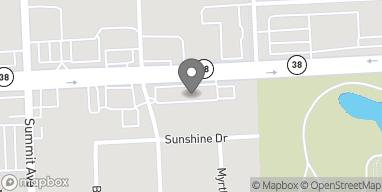 Map of 17w639 Roosevelt Rd in Oakbrook Terrace