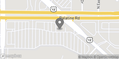Map of 585 E. Palatine Road in Arlington Heights