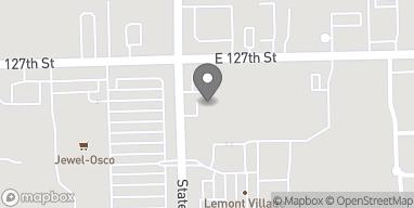 Mapa de 1217 A State Street en Lemont